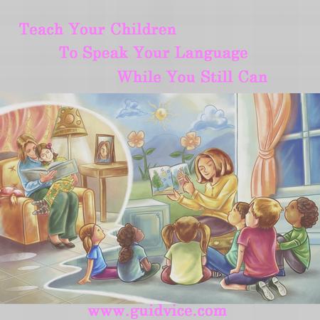 teach your child second language