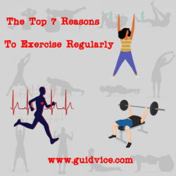 reasons to exercise regularly